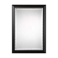 Uttermost Bauman Mirror in Matte Black 09169