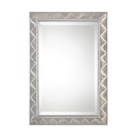 Ioway 34 X 24 inch Metallic Silver Mirror Home Decor