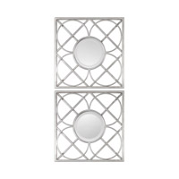 Yasmina Squares 20 X 20 inch Forged Iron Mirror Home Decor