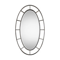 Gilliam 58 X 34 inch Forged Iron Mirror Home Decor