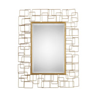 Asner 36 X 28 inch Gold Mirror Home Decor, Jim Parsons