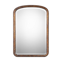 Uttermost 09192 Vena 38 X 26 inch Gold Arch Wall Mirror, Grace Feyock thumb