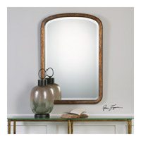 Uttermost 09192 Vena 38 X 26 inch Gold Arch Wall Mirror, Grace Feyock 09192_lifestyle.jpg thumb