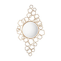 Soraya 53 X 30 inch Gold Mirror Home Decor, Grace Feyock
