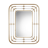 Bayo 53 X 41 inch Gold Mirror Home Decor, Grace Feyock