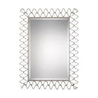Uttermost 09223 Scipio 45 X 34 inch Iron Wall Mirror, Grace Feyock thumb