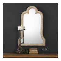 Adilah 36 X 24 inch Aged Ivory Mirror Home Decor