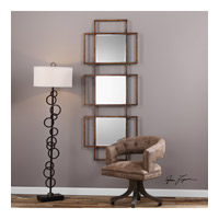 Tribus 72 X 27 inch Forged Iron Mirror Home Decor