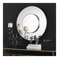 Odelia 32 X 32 inch Silver Leaf Mirror Home Decor