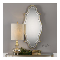 Donatella 45 X 20 inch Metallic Gold Leaf Mirror Home Decor