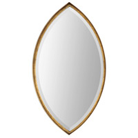 Oculus 32 X 18 inch Antiqued Metallic Gold Leaf Mirror Home Decor