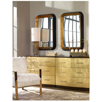 Uttermost 09301 Niva 42 X 28 inch Antiqued Metallic Gold Leaf and Distressed Black Wall Mirror 09301_RS_2.jpg thumb