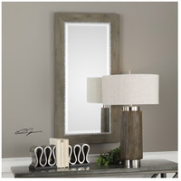 Uttermost 09328 Sheyenne 48 X 24 inch Rustic Wood and Aged Silver Wall Mirror 09328-Lifestyle.jpg thumb