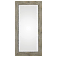 Uttermost 09328 Sheyenne 48 X 24 inch Rustic Wood and Aged Silver Wall Mirror thumb