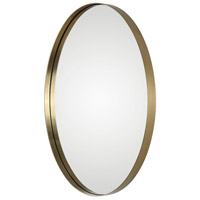 Uttermost 09353 Pursley 30 X 20 inch Plated Brass Wall Mirror 09353-A.jpg thumb