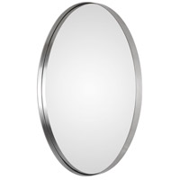 Uttermost 09354 Pursley 30 X 20 inch Plated Brushed Nickel Wall Mirror 09354-A.jpg thumb