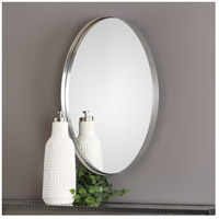 Uttermost 09354 Pursley 30 X 20 inch Plated Brushed Nickel Wall Mirror 09354-Lifestyle.jpg thumb