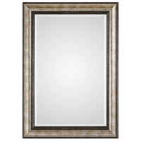 Uttermost 09366 Shefford 43 X 31 inch Antiqued Metallic Silver and Rustic Dark Bronze Wall Mirror photo thumbnail