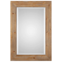 Bullock 38 X 26 inch Solid Natural Wood Mirror