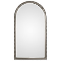 Sherise Arch 41 X 23 inch Plated Brushed Nickel Mirror