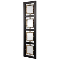 Uttermost 09436 Tadon 75 X 20 inch Black and Antique Golden Champagne Wall Mirror 09436_A.jpg thumb