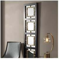 Uttermost 09436 Tadon 75 X 20 inch Black and Antique Golden Champagne Wall Mirror 09436_A1.jpg thumb