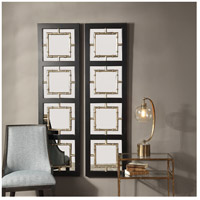 Uttermost 09436 Tadon 75 X 20 inch Black and Antique Golden Champagne Wall Mirror 09436_A2.jpg thumb