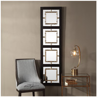 Uttermost 09436 Tadon 75 X 20 inch Black and Antique Golden Champagne Wall Mirror 09436_Lifestyle.jpg thumb