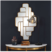 Uttermost 09465 Vada 36 X 21 inch Antiqued Metallic Gold Wall Mirror 09465.jpg thumb