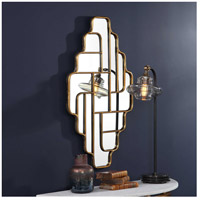 Uttermost 09465 Vada 36 X 21 inch Antiqued Metallic Gold Wall Mirror 09465_4_.jpg thumb