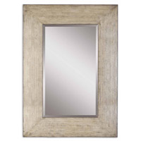 Langford Natural 71 X 51 inch Heavily Distressed Natural Wood Mirror Home Decor