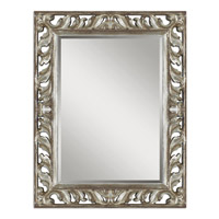 Uttermost Vitaliano Mirror in Heavily Distressed Silver Leaf 09511