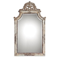 Portici 53 X 32 inch Heavily Antiqued Ivory Mirror Home Decor