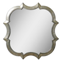 Uttermost 09520 Farista 42 X 42 inch Antique Silver Mirrors Home Decor
