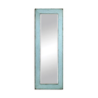 Chasity 75 X 26 inch Light Blue Leaner Mirror Home Decor