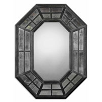 Uttermost 10105 Sumner 38 X 29 inch Rustic Charcoal Gray Wall Mirror thumb