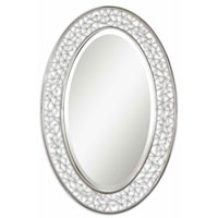 Uttermost Brandon Oval Mirror in Nickel Plated 11771
