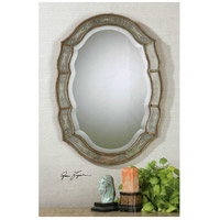 Uttermost Fifi Mirror in Heavily Antiqued Gold Leaf 12530-B