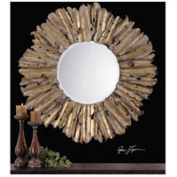 Uttermost Hemani Mirror in Antiqued Gold Leaf 12742-B