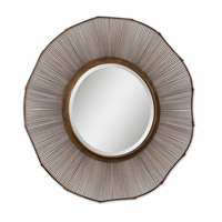 Uttermost Temecula Mirror in Distressed Rust Brown 12755