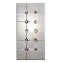 Uttermost Vidalia Mirror in Antiqued Silver Leaf Frame Accented 12762