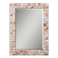 Vivian 36 X 27 inch Mother Of Pearl Wall Mirror