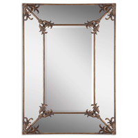 Uttermost Ansonia Mirror in Antiqued Gold 12806