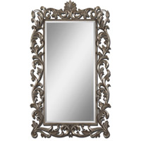 Uttermost Molise Mirror in Lightly Antiqued Silver Leaf 12824