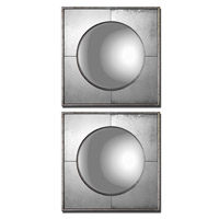 Uttermost Savio Squares Set of 2 Mirrors in Champagne Silver Leaf 12829