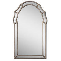 Uttermost Petrizzi Mirror in Antiqued Silver Leaf 12837