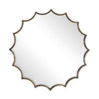 Uttermost San Mariano Starburst Mirror in Oxidized Copper 12841