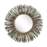 Uttermost Akisha Starburst Mirror in Oxidized Nickel 12845
