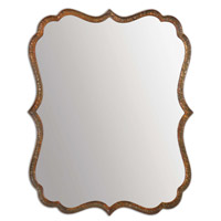 Spadola 30 X 24 inch Oxidized Copper Mirror Home Decor