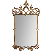 Mirandela 37 X 21 inch Gold Mirror Home Decor